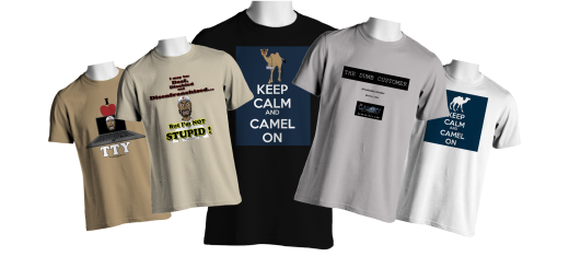 The Dumb Customer - Series 1 - T-Shirts