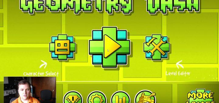Gaming Noob - Geometry Dash Thumbnail
